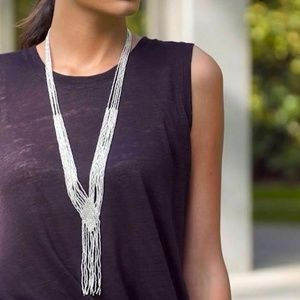 Stella & Dot Vera Necklace in Silver